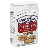 Martha White Self-Rising Flour, 5 Pound (Pack of 8)