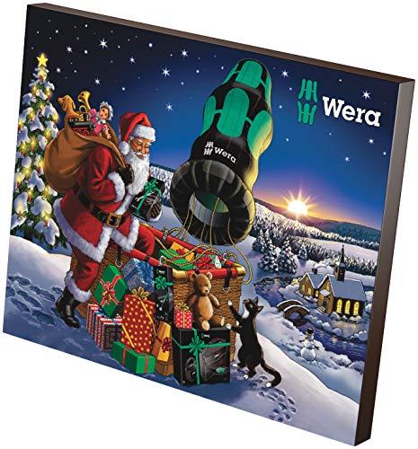 Wera 05136601001 2020 Adventskalender, 24-teilig