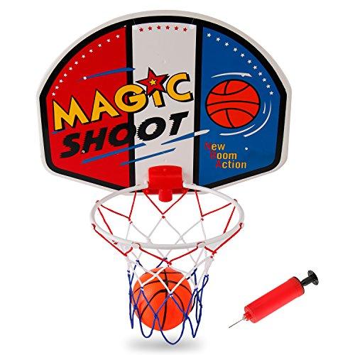 Liberty Imports Magic Shot Mini Basketball Hoop Set with Ball and Pump...