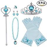 Vicloon 8pcs Princesse Dress Up Accessoires Filles Diadème Varita Magie...