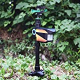 Tangkula Sprinkler, Solar Powered Motion Activated Animal Repellent Water Sprinkler with Timer, Suitable for Outdoor Patio Garden Lawn