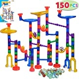 JOYIN 150 Pcs Marble Run Premium Set, Construction Building Blocks Toys, STEM Learning Toy,...