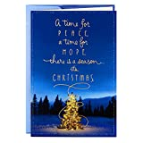 Hallmark Boxed Christmas Cards, Magical Tree (16 Cards and 17 Envelopes)