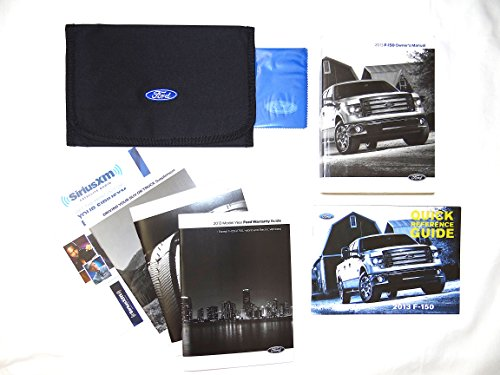 2013 F-150 Truck Owner's Manual with Case