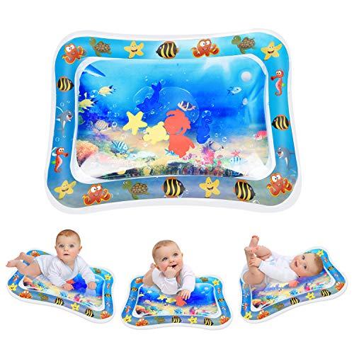 Keten Tappetino Gonfiabile per Neonati, Tappetino Tummy Time Gonfiabile in PVC a Prova d'acqua per Bambini E Neonati,...