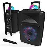 Wireless Portable PA Speaker System - 700 W Battery Powered Rechargeable...