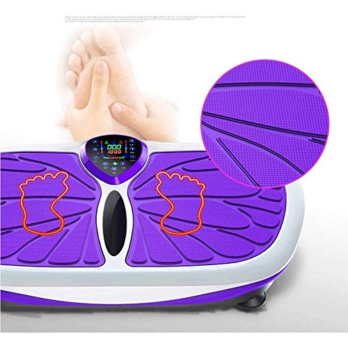 Lcxligang Vibration Trainers Rejection of Fat, Ultra Compact Slim Vibration Plate with Magnetic Massage Multi Exercise Modes for Weight Loss 4