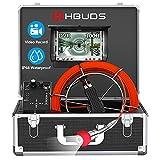 HBUDS Pipe Camera, Sewer Camera Pipeline Drain Sewer Snake Video Camera Industrial Endoscope...