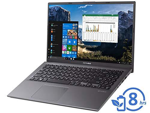"ASUS VivoBook F512DA Laptop, 15.6"" FHD Display, AMD Ryzen 3 3200U Upto 3.5GHz, 12GB RAM, 1TB NVMe SSD, Vega 3, HDMI, Card Reader, Wi-Fi, Bluetooth, Windows 10 Pro"