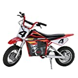 Razor MX500 Dirt Rocket Adult & Teen Ride On High-Torque Electric Motocross Motorcycle Dirt Bike,...