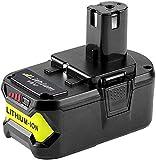 Moticett RB18L50 18V 5.0Ah Batterie de remplacement pour Ryobi ONE+ RB18L40 RB18L25 P108 P107 P122 P104 P105 P102 P103