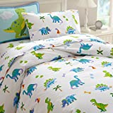 Wildkin Kids 100% Cotton Twin Duvet Cover for Boys and Girls, Features Button Closure and Four...