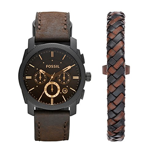 Fossil Men's Stainless Steel Analog-Quartz Watch with...