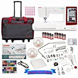 Janome Memory Craft 14000 Sewing and Embroidery Machine with Exclusive Bundle