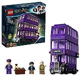 LEGO- Harry Potter Nottetempo Set di Costruzioni Bus a 3 Piani con 3 Minifigure, per Bambini da 8+ Anni e per Tutti Gli Appassionati, per Rivivere Le Avventure del Film, Única, 75957