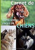 Carnet de différentes races de chiens: Ce carnet ou cahier de notes est fait pour toutes...