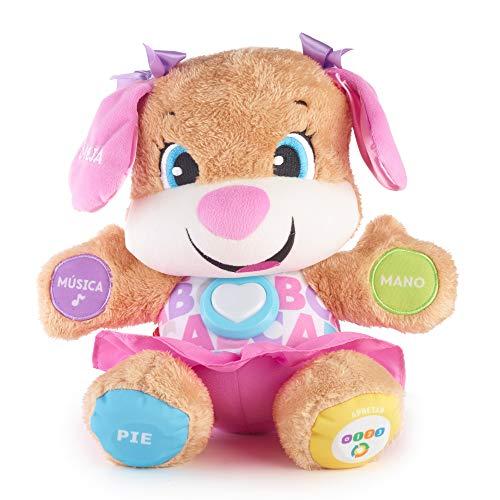 Fisher-Price Perrita primeros descubrimientos, juguete bebé +6 meses (Mattel FPP55)