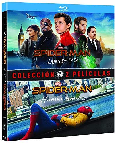Pack Spider-Man: Homecoming + Lejos De Casa (BD) [Blu-ray]