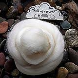 100g Felt Wool Needle Felting Wool Large Cream White