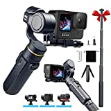 Stabilisateur de cardan à 3 axes compatible avec la caméra d'action GoPro...