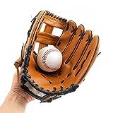 Gants de baseball en cuir PU solide, doux et épais, Gants de lanceur pour...