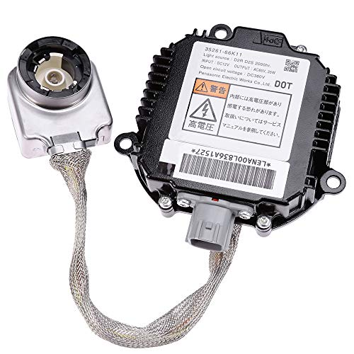 Xenon HID Headlight Ballast Igniter Control Unit Module Compatible with Infiniti EX35 EX37 JX35 QX56 FX35 FX37 FX45 FX50 QX70 M35 M37 M45 M56 G35 G37 Nissan Maxima Murano 350Z 370Z Altima GT-R Rogue