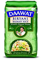 The signature of authentic biryani is the length of the rice grain Daawat biryani is the worlds longest grains which gives finest presentation to the biryani Every single grain of daawat biryani basmati rice elongates to 18-24mm when cooked Country o...
