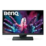 BenQ PD2500Q Monitor per Designer 25 Pollici QHD, 2560 x 1440 QHD, CAD/CAM, Darkroom Mode, Low Blue Light, Flicker-Free, Grigio