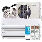 Senville SENA-18MO-209 18000 BTU Dual Zone Split Air Conditioner and Heat Pump, Mini