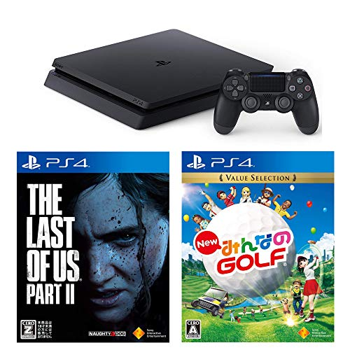 PlayStation 4 + New みんなのGOLF + The Last of Us Part II セット 【CEROレーティング「Z」】