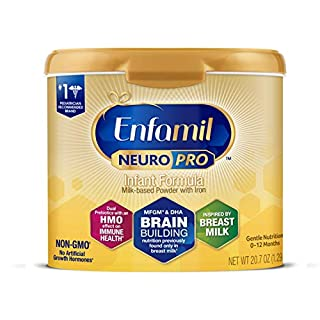 NeuroPro is the only formula that has a fat-protein blend of MFGM and DHA, previously only found in breast milk. #1 trusted brand for brain-building & immune support Emerging evidence from a recent clinical study showed MFGM in formula supports cogni...