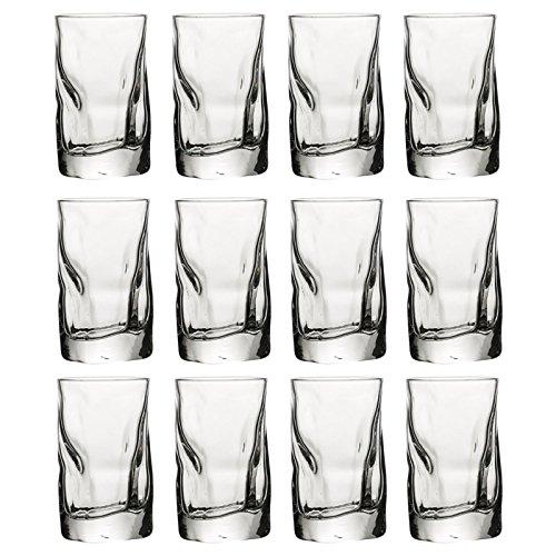 Bormioli Rocco, bicchiere linea sorgente, 12 Bormioli Rocco 7cl Shot Glasses