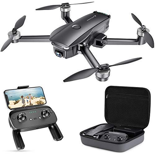 SNAPTAIN SP7100 4K GPS Drone con Telecamera UHD per Esperti, Quadricottero Pieghevole con Motore Brushless, Ritorno Automatico, Modalit Seguimi, Modalit Punti di Interesse, Autonomia 26 Minuti