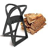 KABIN Kindle Quick Log Splitter - Manual Splitting Tool - Steel Wedge Point Splits Firewood Like A Boss Safely & Easily