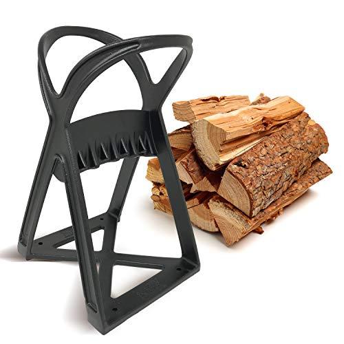 Kabin Kindle fendeur rapide de bûches - Outil de séparation manuel - La pointe en acier à coin fend le bois de chauffage comme un chef, facilement et en toute sécurité