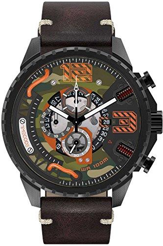 Timecode Tesla 1893 Herren-Armbanduhr Chronograph Quarz TC-1012-05