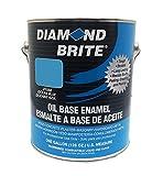 Diamond Brite Paint 31550 1-Gallon Oil Base All Purpose Enamel Paint Ocean Blue