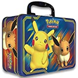 PoKÃMoN 820650804182 TCG: Fall 2018 Collector's Chest Tin Featuring Pikachu & Eevee   5 Booster...