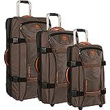 Timberland Twin Mountain 3 Piece Wheeled Duffel Luggage Set (Cocoa)