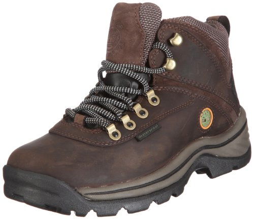 TimberlanD Women's White LeDge MiD Ankle Boot,Dark Brown,8.5...