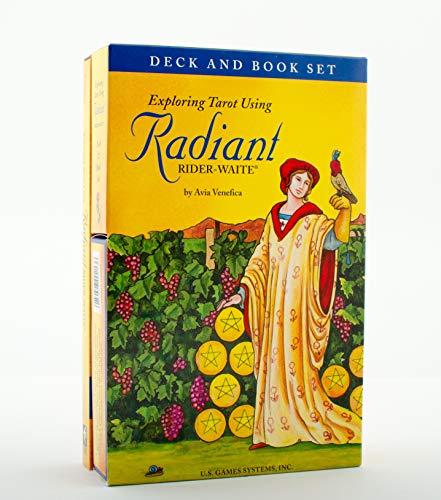 Exploring Tarot Using Radiant Rider-waite Tarot: Deck & Book...