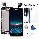 Ecran LCD Vitre Tactile Complet sur Châssis pour iPhone 6 Noir avec Outils...