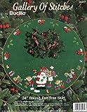 Bucilla Santa's Workshop Felt Applique Tree Skirt Kit 33247