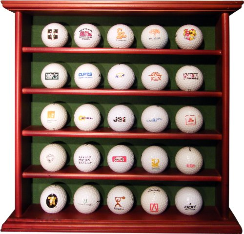 25 BALL WOODEN DISPLAY RACK