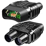 Night Vision Goggles, Digital Infrared Night Vision Binoculars with Take HD Photo & 980P Video from 300m / 984ft in Total Darkness, Night Goggles with 2.31' TFT LCD and 32G Memory Card