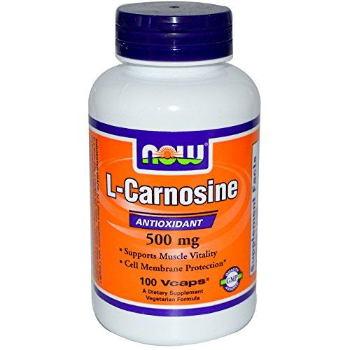 L-Carnosine 500mg 100 VegiCaps (Pack of 2)