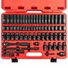 NEIKO 02471A 3/8 Standard and Deep Drive Impact Socket Set | 67 Pieces | SAE 5/16 to 3/4 | Metric 8mm to 19mm | Chrome Vanadium Steel | Quick Release Ratchet Handle | Extension Bars and Adapters
