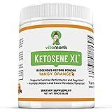 Ketosene XL 30 Servings Extra Large Exogenous Ketones Powder - Kickstart Ketosis Within 1-Hour with a Pure Blend of Calcium and Magnesium Ketone BHB Salts (KetoVantage BHB) - for Keto Diet Bulk