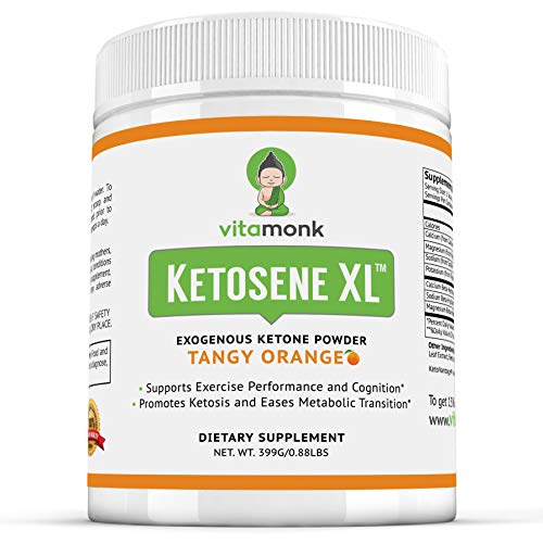 Ketosene XL™ 30 Servings Extra Large Exogenous Ketones Powder - Kickstart Ketosis Within 1-Hour with a Pure Blend of Calcium and Magnesium Ketone BHB Salts (KetoVantage BHB) - for Keto Diet Bulk 1