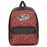 Mochila Vans Realm Wild Leopard de Color Leopardo roja y Negra